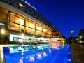 Amathus Beach Hotel - Hotel's Swimming Pool by Night